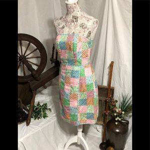 """Rare"" Original Patchwork Vineyard Vines Dress 4"